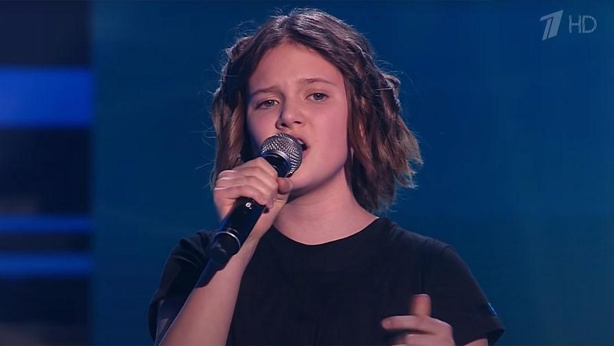 Елизавета Трофимова на шоу «Голос. Дети» (кадр из видео)