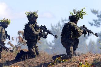 Военнослужащие армии Польши на учениях НАТО Saber Strike в Латвии, июнь 2016 года