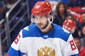 Никита Кучеров будет главной звездой сборной России на Шведских играх