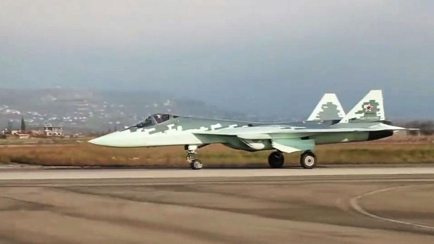 Названы сроки появления у ВВС России истребителя пятого поколения Су-57