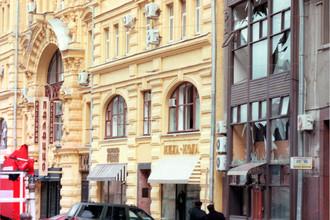 Мощный взрыв у здания приемной ФСБ по улице Кузнецкий мост 4 апреля 1999 года