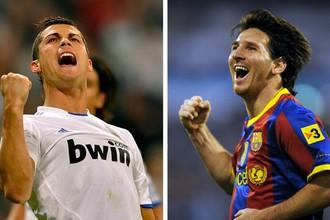 Роналду и Месси забили по 41 мячу в чемпионате Испании