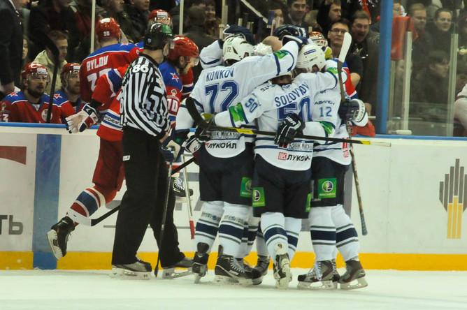 «Динамо» решило исход матча уже в первом периоде