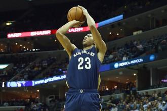 Форвард «Нью-Орлеана» Энтони Дэвис стал самым результативным игроком дня в НБА