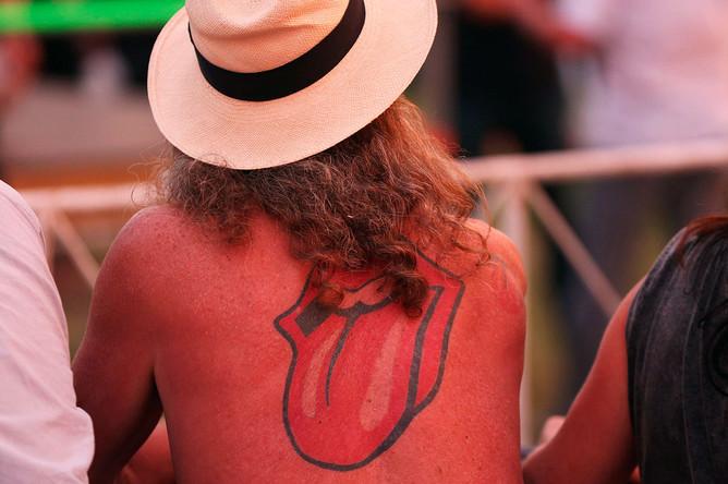 Зрители на концерте группы The Rolling Stones в Гаване