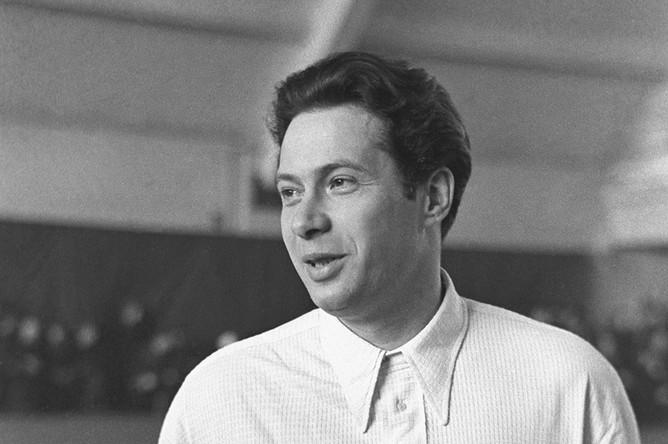 Заслуженный мастер спорта по теннису Николай Озеров, 1950 год