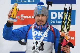 Антон Шипулин выиграл серебро гонки преследования в Пхенчхане