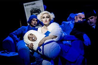 Сцена из спектакля «Цирк»