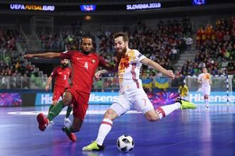 Мини-футбол. Португалия — Испания