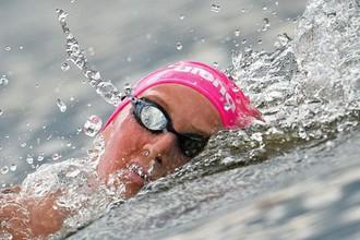 Российская пловчиха Мария Новикова