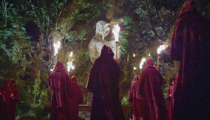 Кадр из телесериала «Карточный домик»