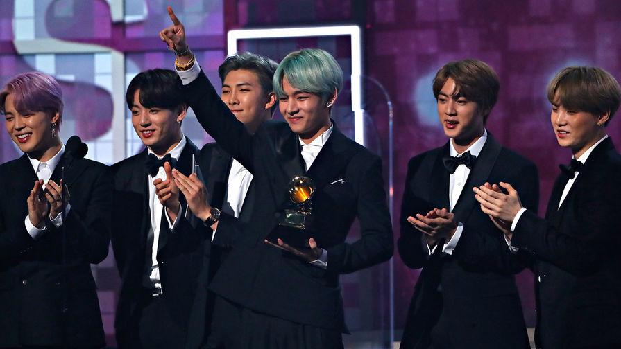 Южнокорейский бойбенд BTS