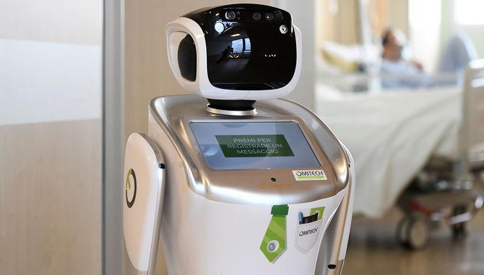 Спасти врачей: как роботы помогают в борьбе с COVID-19