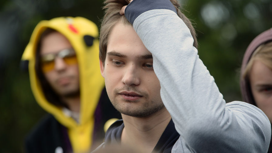Блогер Руслан Соколовский после оглашения приговора в Верх-Исетском районном суде Екатеринбурга, 11 мая 2017 года