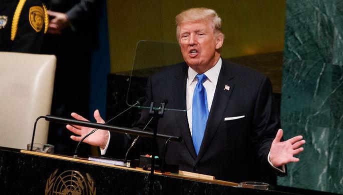 Трамп: удары США по Сирии были законными мерами