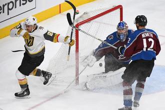 «Вегас» разгромил «Колорадо» в домашнем матче НХЛ