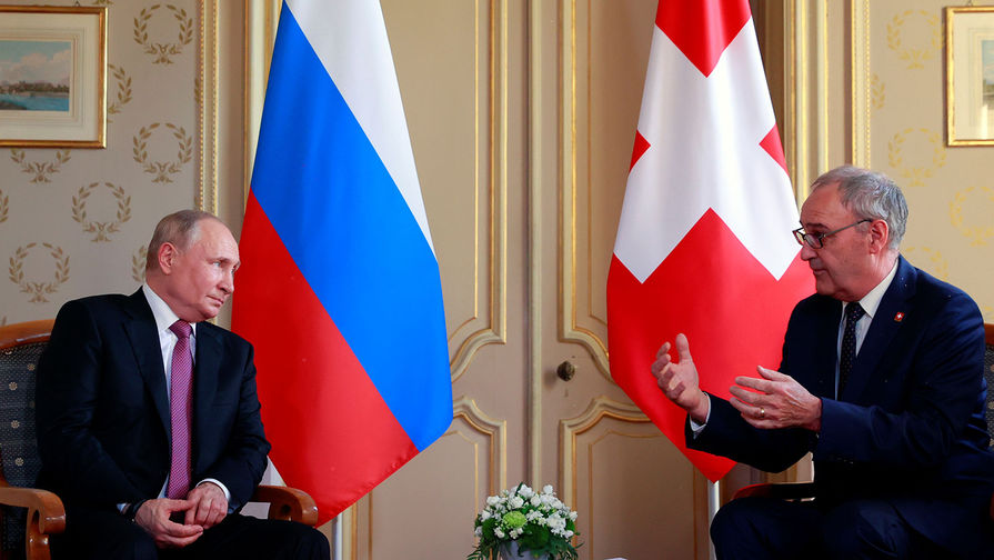Президент Швейцарии рассказал, какое качество Путина он ценит