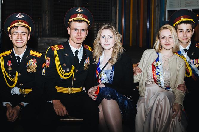 Выпускной вечер в Парке Горького, 23 июня 2017 года