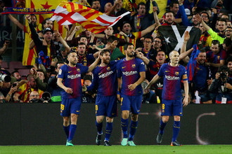 Эпизод мачта «Барселона» — «Реал»