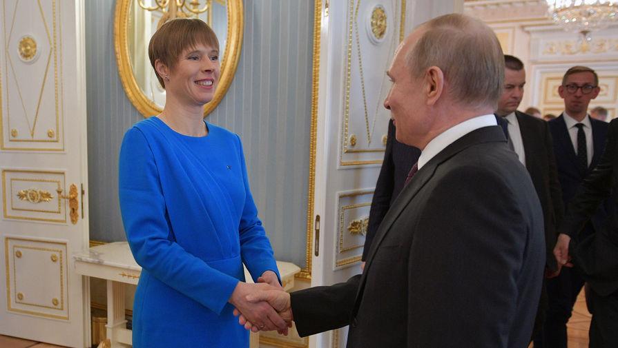 Министр из Эстонии посоветовал президенту страны отозвать приглашение Путину