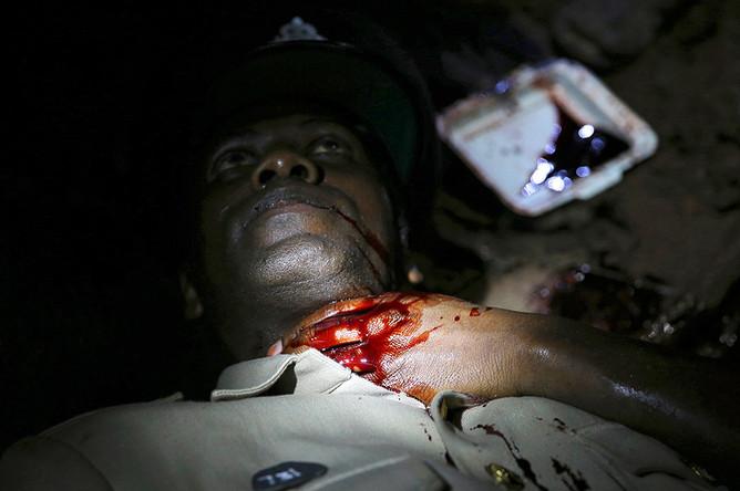Эпизод с убитым полицейским
