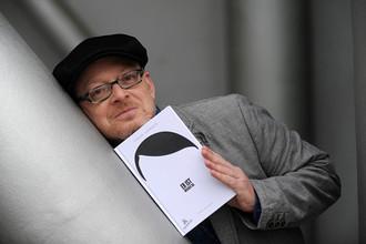 Тимур Вермеш со своей книгой «Он снова здесь»