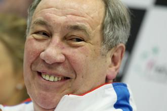 Президент Федерации тенниса России Шамиль Тарпищев
