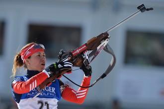 Дарья Виролайнен стала второй в гонке преследования