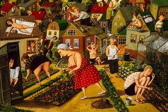 «Овощи и люди», Валентин Губарев
