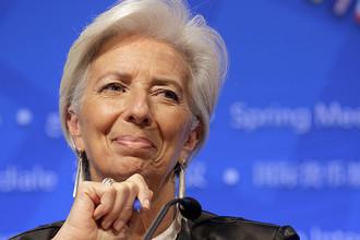 9 место. Директор-распорядитель Международного валютного фонда (МВФ) Кристин Лагард