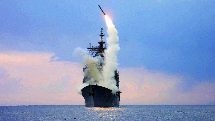 В Черное море вошел второй за сутки американский корабль с ракетами Tomahawk