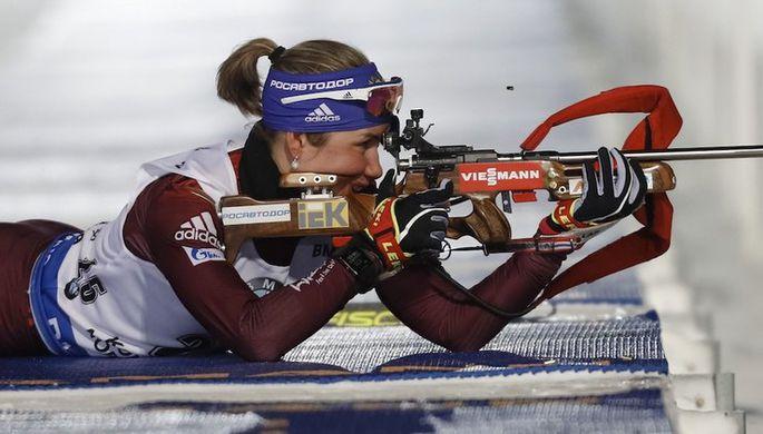 Анна Моисеева на огневой позиции