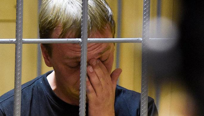 Журналист «Медузы» Иван Голунов в зале суда, 8 июня 2019 года