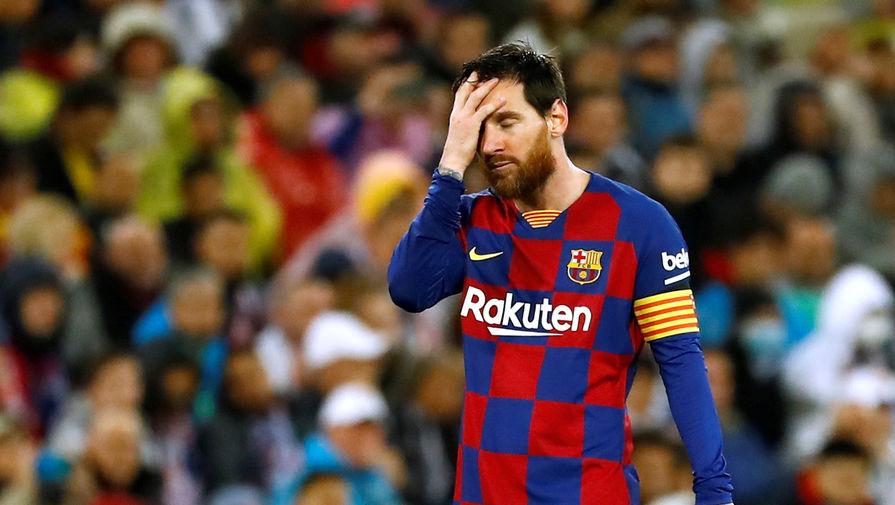 Месси может пропустить первый матч после возобновления чемпионата Испании