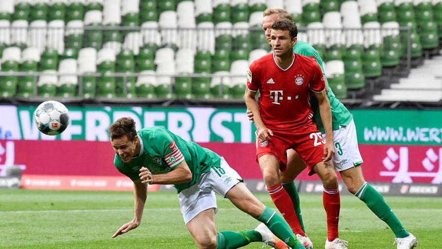 Эпизод матча «Вердер»- «Бавария»