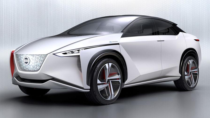 Электрический кроссовер Nissan IMx