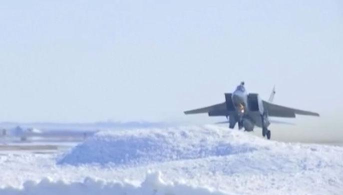 «Кинжал» в Арктике: Россия испытала гиперзвуковую ракету