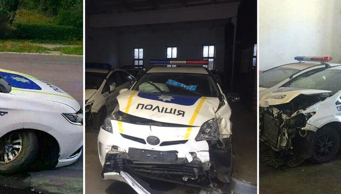 Полиция Украины бьется каждый день