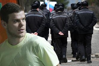 Нападающий «Зенита» Александр Кокорин