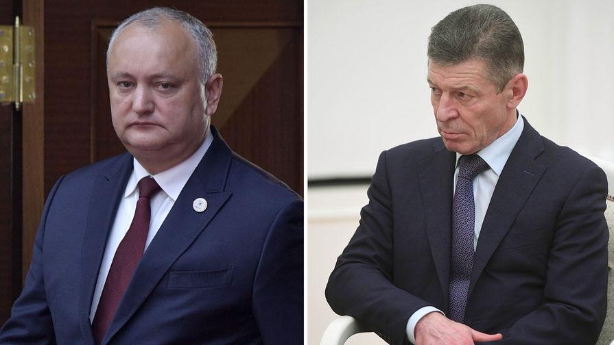 Козак рассказал о тайной сделке, предложенной РФ молдавскими демократами