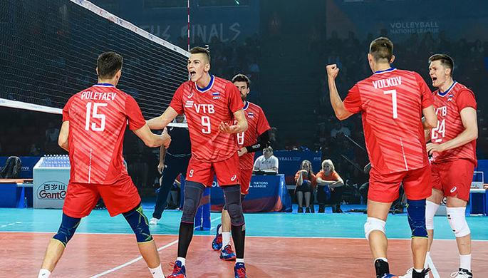 Сборная России разбила США в финале Лиги наций в Чикаго