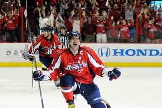 Форвард «Вашингтона» Александр Овечкин вышел на восьмое место в списке лучших российских бомбардиров НХЛ