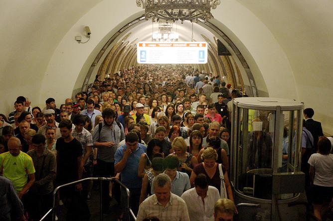 Ситуация на станции метро «Киевская»