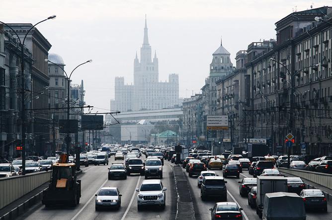 Гарь над Москвой, 10 октября 2014 года