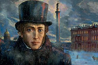 Илья Глазунов «А.С. Пушкин. Накануне» (1994 год)