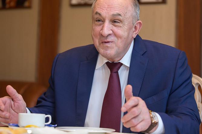 Глава Удмуртии Александр Соловьев, февраль 2017 года