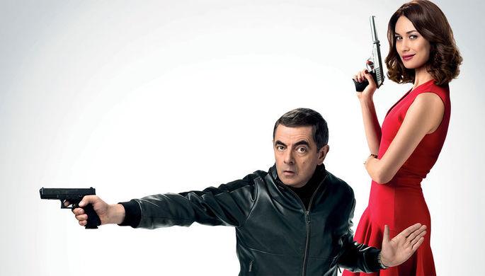 Фрагмент постера к фильму «Агент Джонни Инглиш 3.0» (2018)
