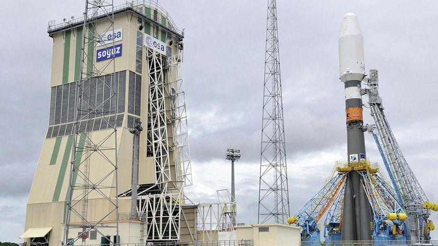 Опубликовано видео провала запуска ракеты-носителя «Вега»