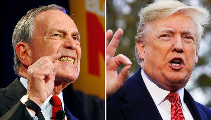 $500 млн против Трампа: Блумберг вложится в предвыборную борьбу