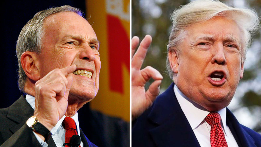 Битва бизнесменов: Блумберг бросил вызов Трампу